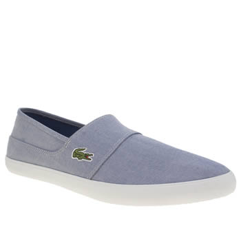 Lacoste Pale Blue Marice Mens Trainers