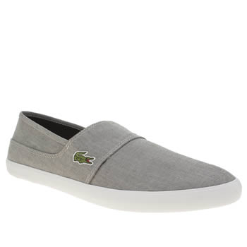 Mens Lacoste Grey Marice Trainers