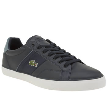 Lacoste Navy & Pl Blue Fairlead 316 Trainers