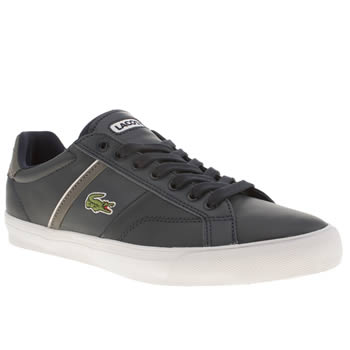 Mens Lacoste Navy Fairlead Trainers