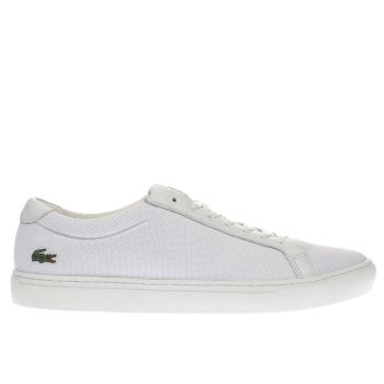 Lacoste White L-12-12 Trainers