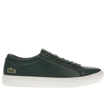 Lacoste Dark Green L-12-12 Trainers