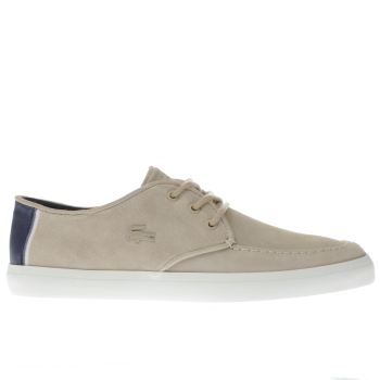 Lacoste Natural Sevrin 316 Mens Trainers