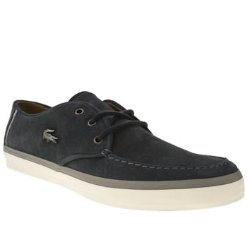 Mens Lacoste Navy Sevrin Trainers