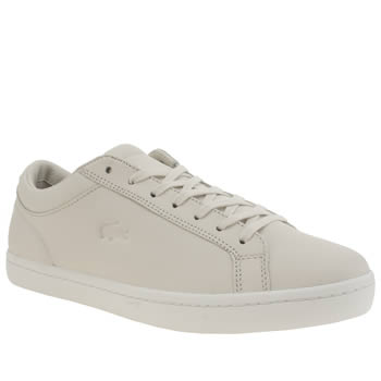 Lacoste Natural Straightset 116 Mens Trainers