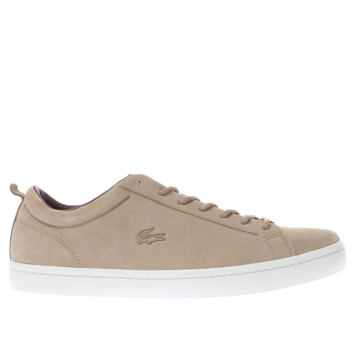 lacoste tan straightset trainers