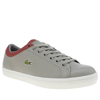 Lacoste Grey Straightset 316 Trainers