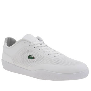 Mens Lacoste White Tramline 116 Trainers