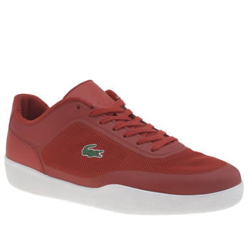 Lacoste Red Tramline 216 Trainers