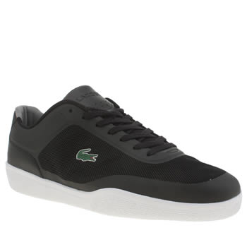 Mens Lacoste Black Tramline 116 Trainers