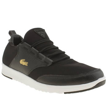 Mens Lacoste Black Light 01 Trainers