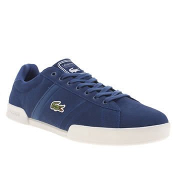 Lacoste Blue Deston Trainers