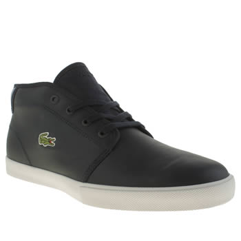 Mens Lacoste Navy Ampthill Trainers