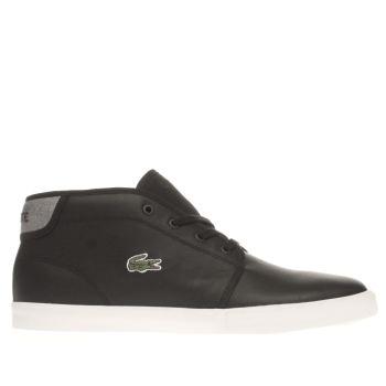 Lacoste Black Ampthill Trainers