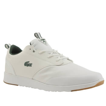 Mens Lacoste White L.ight 2-0 Trainers