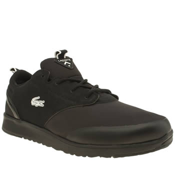 Mens Lacoste Black L-ight 2-0 Trainers