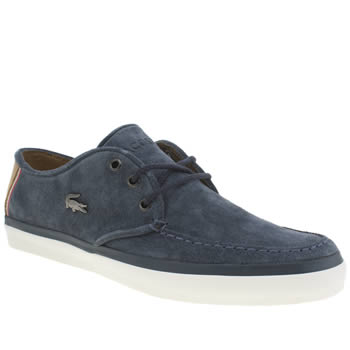 Mens Lacoste Navy Sevrin 7 Trainers