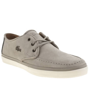 Mens Lacoste Grey Sevrin 7 Trainers