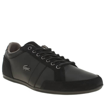 Mens Lacoste Black Alisos 22 Trainers