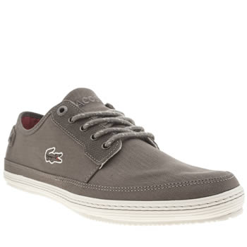 Mens Lacoste Grey Saulieu 2 Trainers