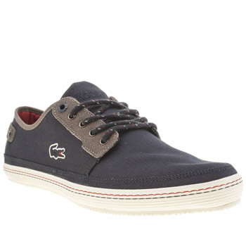 Mens Lacoste Navy & Grey Saulieu 2 Trainers