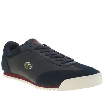 Lacoste Navy Romeau Put Trainers