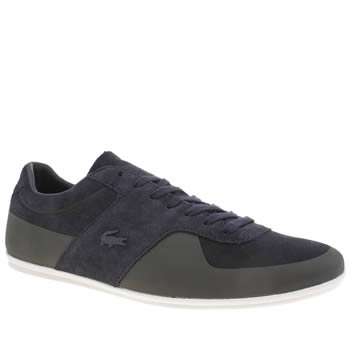 Lacoste Navy Turnier Mens Trainers