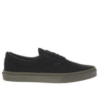 Vans Black & Green Vansguard Era Trainers