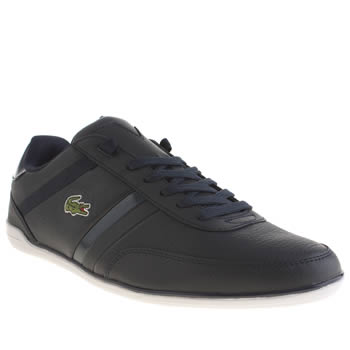 Mens Lacoste Navy Giron Trainers