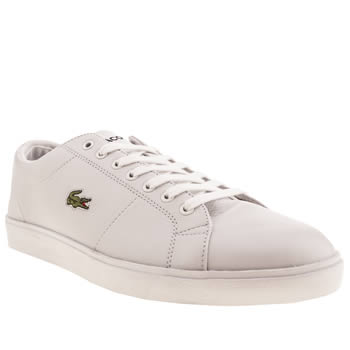 Mens Lacoste White Marcel Cup Trainers