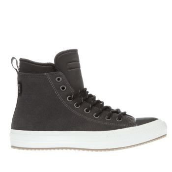 Converse Dark Grey Chuck Taylor Ii Boot Hi Shield Trainers