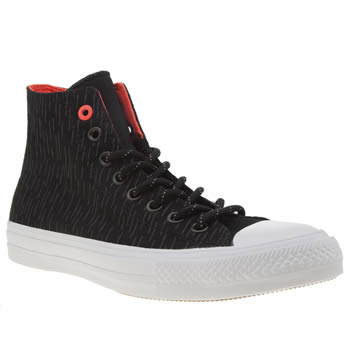 Converse Black Chuck Taylor Ii Hi Shield Trainers