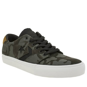 Converse Dark Grey Ka3 Heavy Canvas Trainers