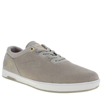 Emerica Light Grey Westgate Cc Mens Trainers