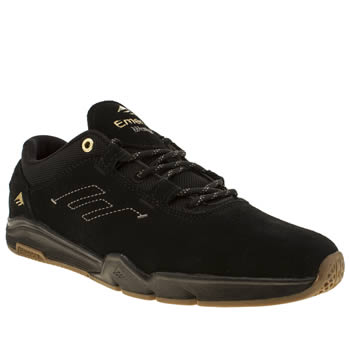 Mens Emerica Black Brandon Westgate Trainers