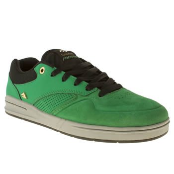 mens emerica turquoise the heretic trainers
