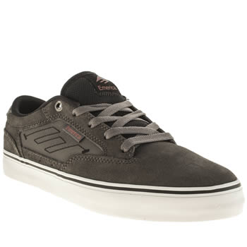 Mens Emerica Dark Grey Jinx 2 Trainers