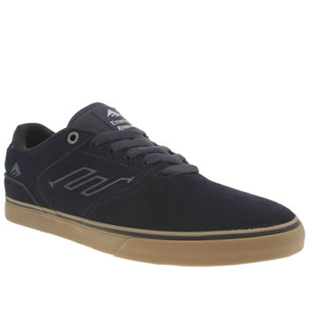 Mens Emerica Navy Reynolds Trainers