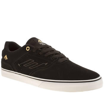 Mens Emerica Black Reynolds Trainers