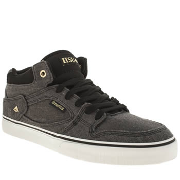 Mens Emerica Navy & Black Hsu Trainers