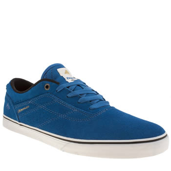 Mens Emerica Blue Herman G6 Vulc Trainers