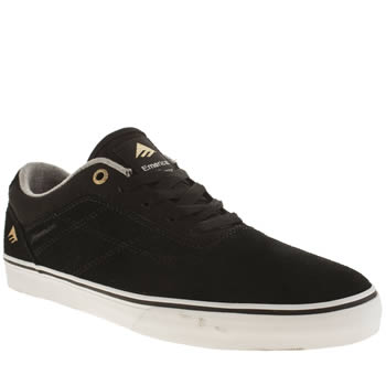 Emerica Black Herman G6 Vulc Trainers