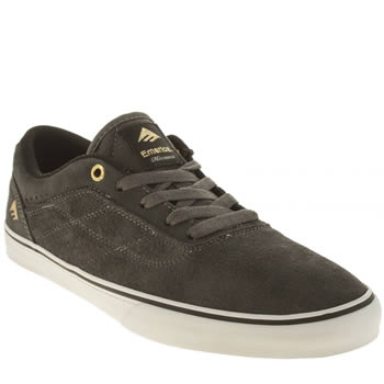 Mens Emerica Grey Herman G6 Vulc Trainers