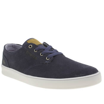 Mens Emerica Navy Romero Laced Trainers