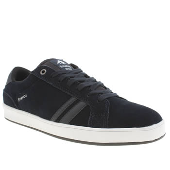 Mens Emerica Navy The Leo 2 Trainers