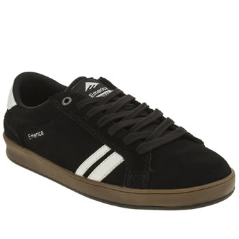 Mens Emerica Black The Leo 2 Trainers