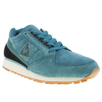 Mens Le Coq Sportif Turquoise Eclat 89 Trainers