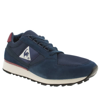 Mens Le Coq Sportif Navy Eclat 89 Trainers