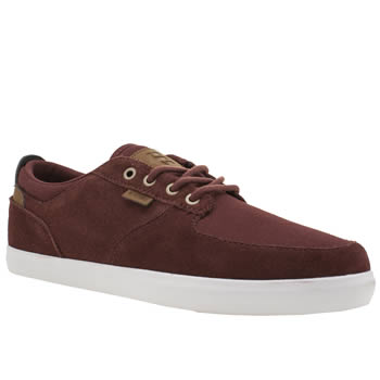 Etnies Burgundy Hitch Trainers