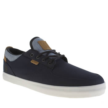 Mens Etnies Navy Hitch Trainers